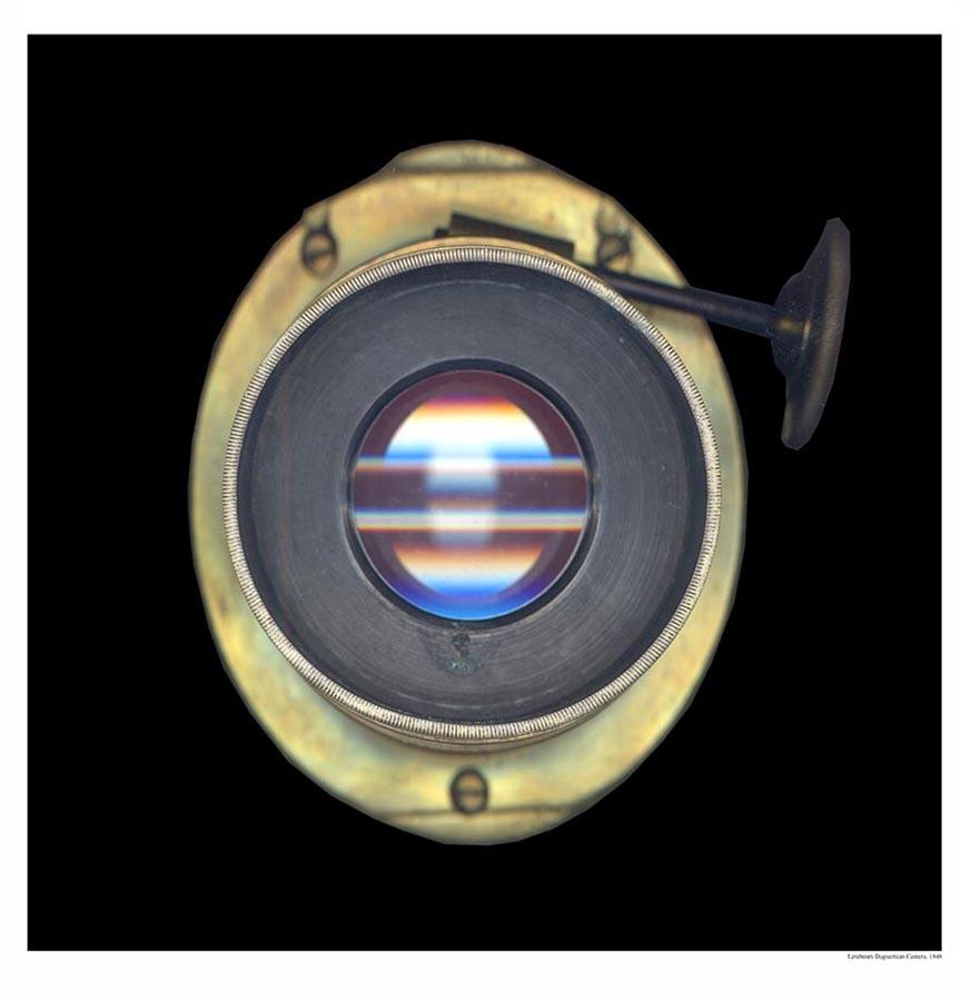 Daguerreotype camera lens