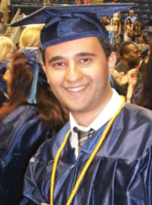 Joseph Dagher, Scholarship Recipient