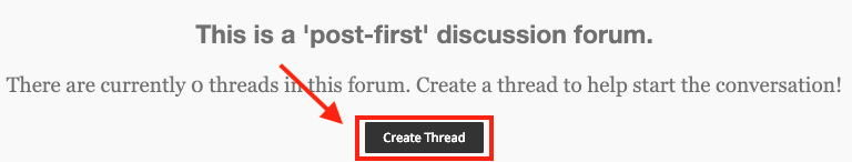 Create A Thread Instructions