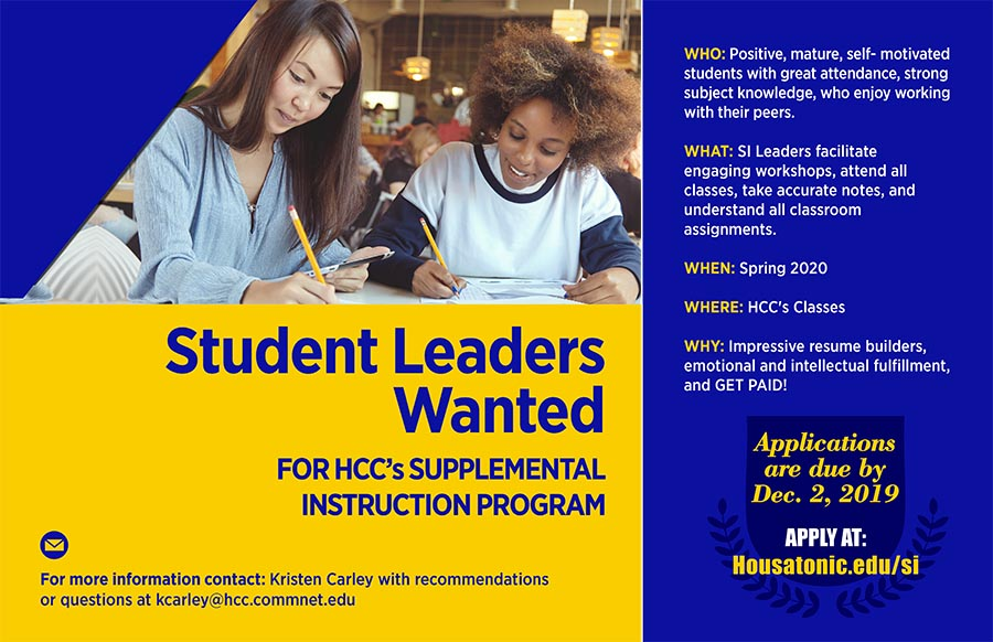 Supplemental Instruction Leader Flyer